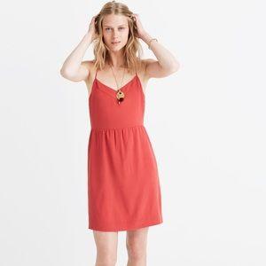 Madewell Silk Sunlight Cami Dress Size 12 NWT